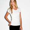 + Canvas Ladies' Baby Rib Short-Sleeve Scoop Neck Tee