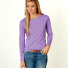 LA T Ladies' Combed Ring-Spun Jersey Long-Sleeve T-Shirt