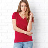 + Canvas Ladies' Jersey Short-Sleeve V-Neck Tee