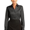 Ladies French Cuff Non Iron Pinpoint Oxford