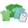 Infant Baby Rib Lap-Shoulder T-Shirt