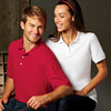 UltraClub® Ladies' Platinum Honeycomb Piqué Polo