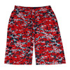 "Adult 10"" Digital Sublimated Print Shorts"