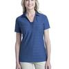 Ladies Horizontal Texture Polo