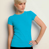 +CANVAS Ladies' Baby Rib Short-Sleeve Tee