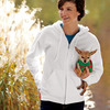 DryBlend® Adult Full-Zip Hooded Sweatshirt