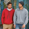 ® Heavy Blend™ Adult Contrast Hooded Sweatshirt