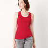 + Canvas Ladies' 2x1 Rib Racerback Longer Length Tank