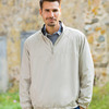 UltraClub Adult Micro-Poly 1/4-Zip Windshirt