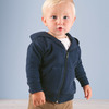 Infant Zipper Hooded Sweatshirt