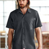 Dickies Men's Short-Sleeve Industrial Poplin Work Shirt