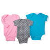 Infant Baby Rib Lap-Shoulder Bodysuit