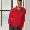 UltraClub® Men's Cool & Dry Sport Performance Interlock 1/4-Zip Pullover