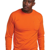 Adult Long-Sleeve T-Shirt with Pocket
